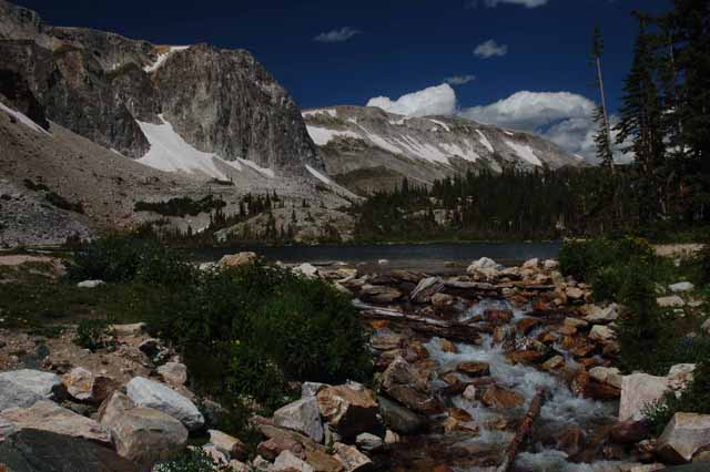 Medicine Bow Range and Lake Marie